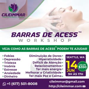 Classe de Access Bars  dia 14 de junho das 9:00 às 17:30 em Seattle, WA