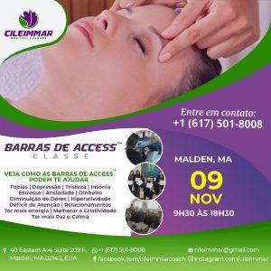 Barras de Access dia 09/nov 9:30 as 18:30